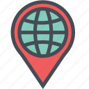 cargo, delivery, logistics, packages, shipping, worlddestinationicon icon