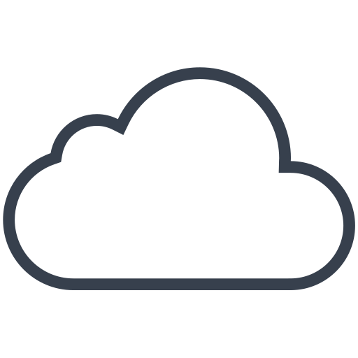 cloud, cloudy, weather, winter icon