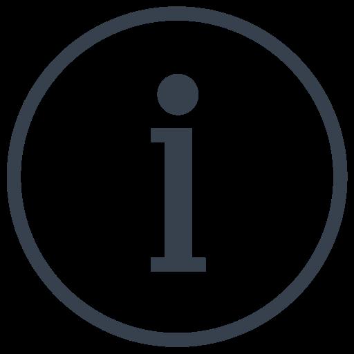data, info, information icon