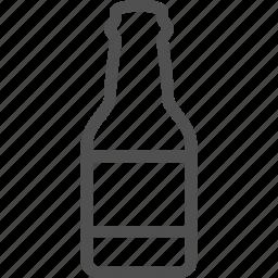 alcohol, beer, booze, bottle, drink, ethanol, soft icon