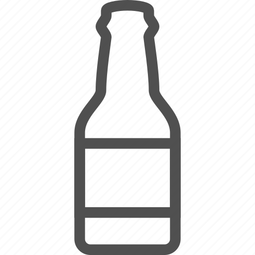 alcohol, beer, booze, bottle, drink, ethanol, soft icon