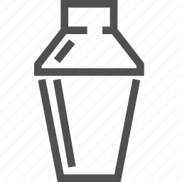 alcohol, blend, cocktail, drink, mix, shake, shaker icon