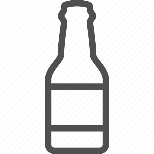 alcohol, beer, bottle, drink, glass, lager icon