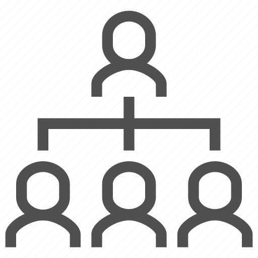business, group, man, people, structure, subordination, users icon