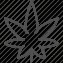 addiction, drugs, hash, hemp, marijuana, narcotic, weed icon