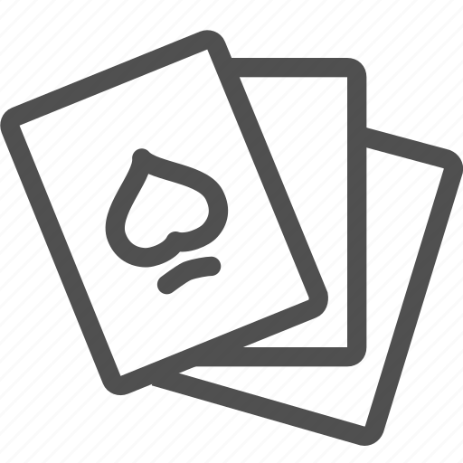ace, cards, casino, gamble, luck, play, poker icon