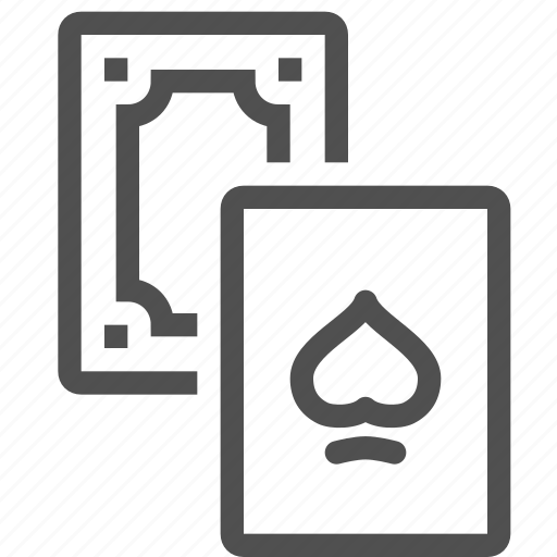 cards, casino, gambling, game, luck, play, poker icon