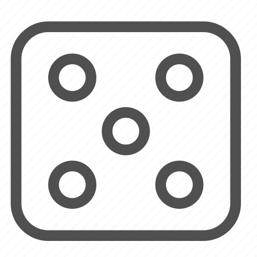casino, chance, dice, gambling, game, luck, roll icon