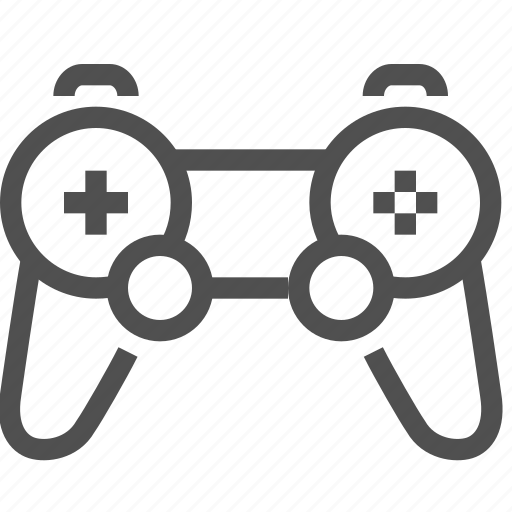 console, control, controller, game, joystick, lever, play icon
