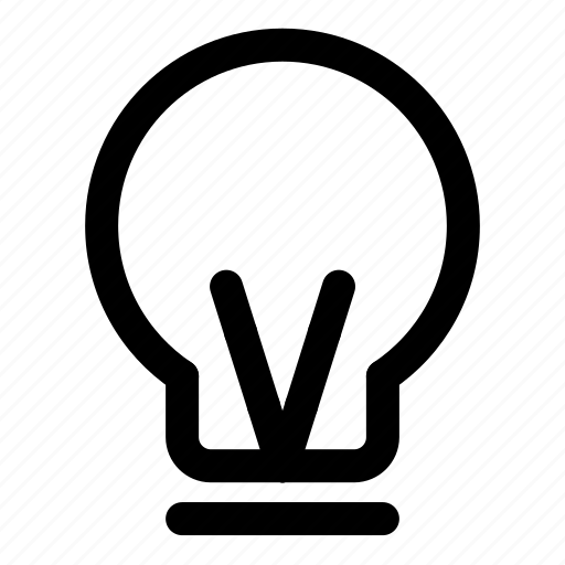 bulb, electric, idea, lamp, light icon
