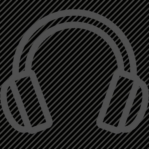 audio, headphones, hear, listen, music, song, sound icon