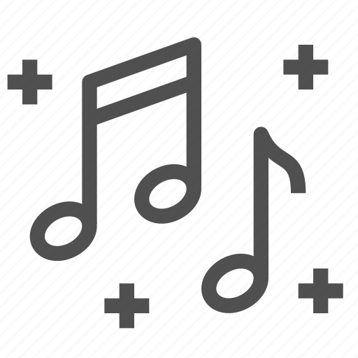 media, melody, multimedia, music, notes, play, sound icon