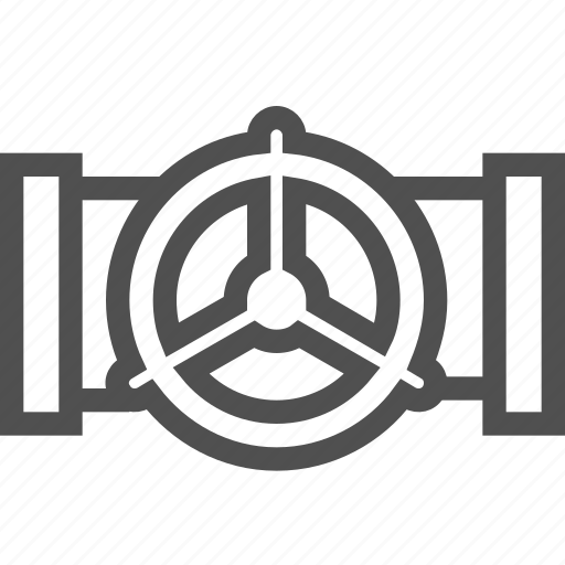 conduit, energy, fuel, manifold, oil, pipeline, valve icon