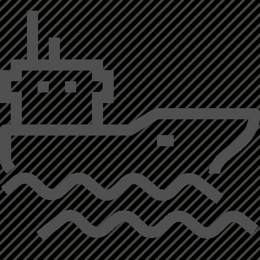 cargo, oil, oiler, ship, shipping, tank, tanker icon