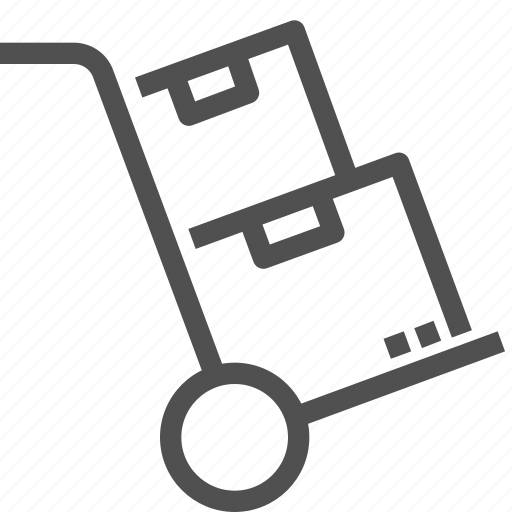 cart, delivery, order, package, parcels, shipping icon