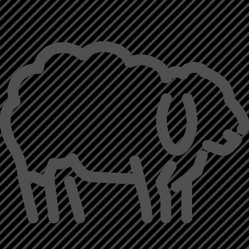 animal, count, dream, night, sheep, sleep icon