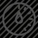alarm, control, detector, sensor, time, timer icon