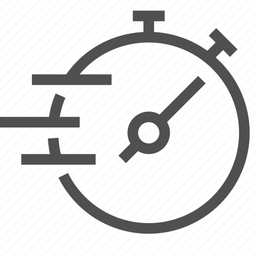 fast, mark, notify, speed, sport, time, timer icon