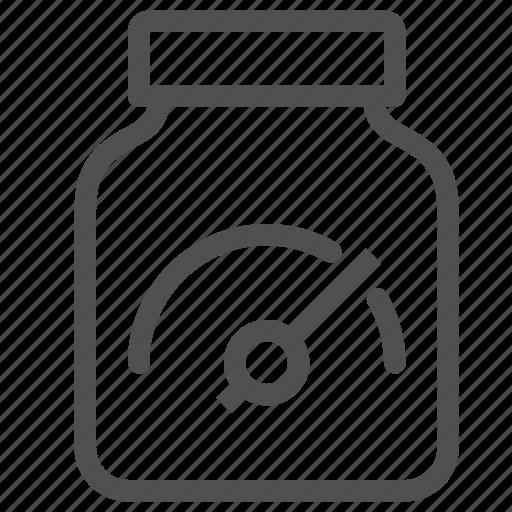 arrow, bcaa, bottle, jar, speed, stamina, supplement icon