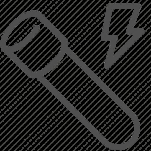 energy, lightning, power, stamina, supplement, test-tube, vial icon
