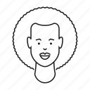 african, avatar, face, head, people, person, woman