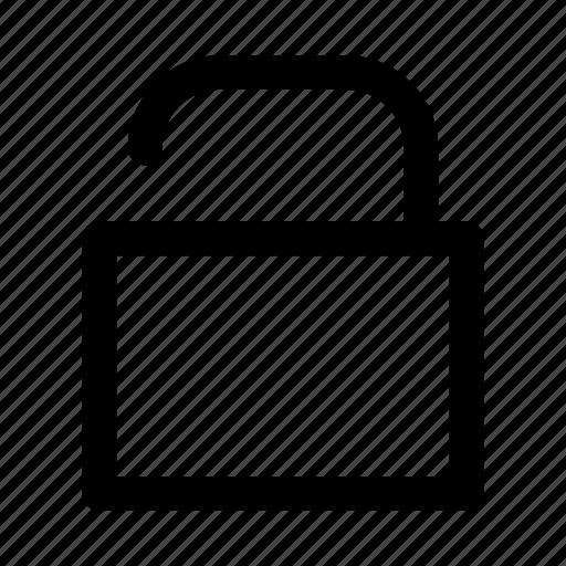 access, key, lock, private, unlock icon