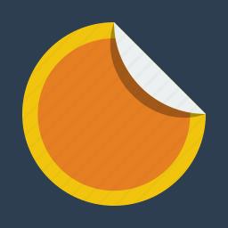 stick, sticker icon