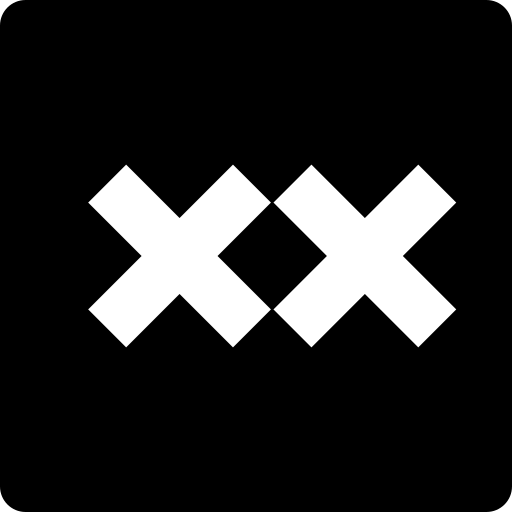 animexx, media, social, square icon