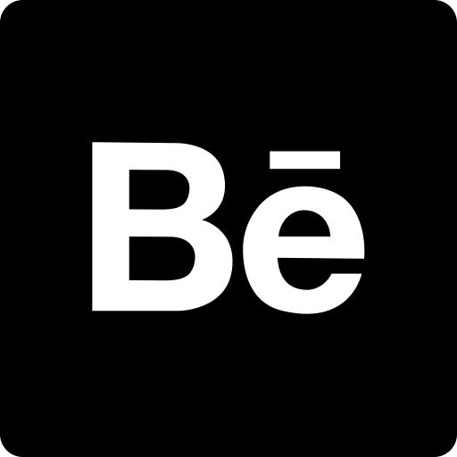 behance, media, social, square icon