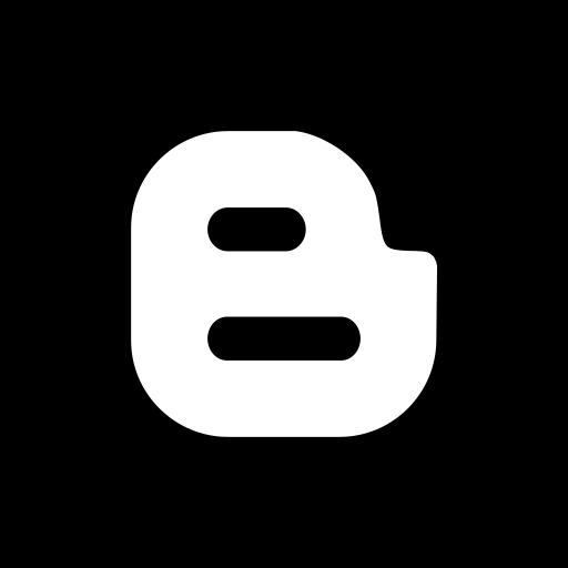 blogger, media, social, square icon