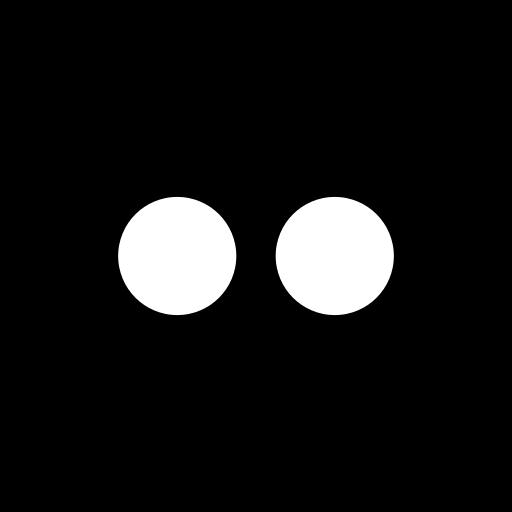 flickr, media, social, square icon