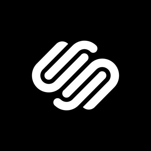 media, social, square, squarespace icon