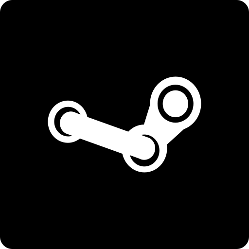 media, social, square, steam icon