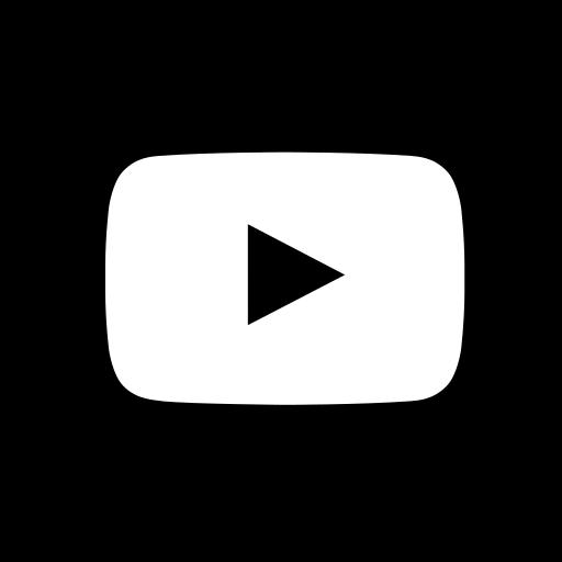 media, social, square, youtube icon