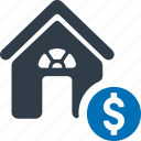home, loan, apartment, property, real estate, lease icon