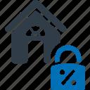pledge, lease, rent, building, house icon