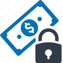 secured, loan, safe, security, protection icon