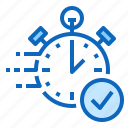 approval, clock, fast, money, quick, time icon