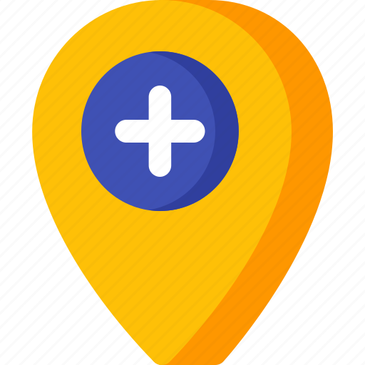 add, location, map, navigation, pin, place icon