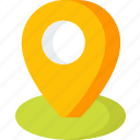 location, direction, map, navigation, pin, place