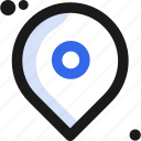 address, direction, location, map, navigation, pin, placeholder icon