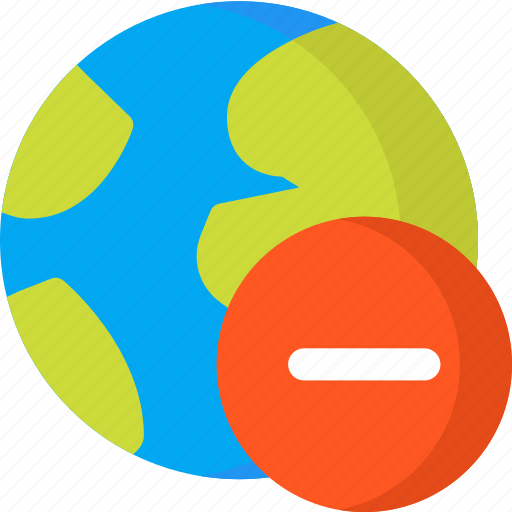 earth, location, map, navigation, pin, place, remove icon