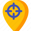 location, map, navigation, pin, place, target icon
