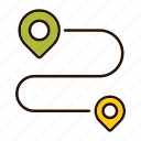 delivery, goal, gps, location, map, pointer, target icon