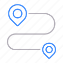 delivery, goal, gps, location, pin, pointer, target icon