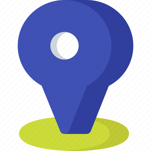 direction, location, map, navigation, pin, place icon