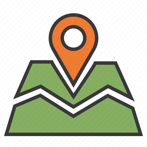 Address, gps, location map, location pin, navigation, place, position icon - Download on Iconfinder