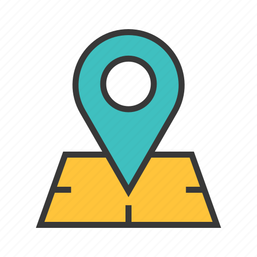 global position, location marker, location pin, pin location, places, route icon