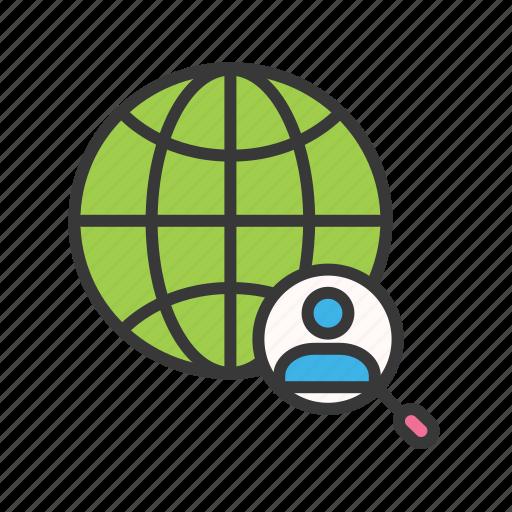 find person address, gps, locate address, person location, search address icon