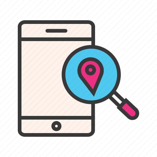 find address, find location, location pin, mobile maps, navigation pin, search address, search location icon